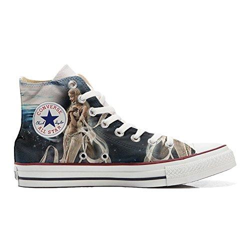 Handwerk Spaziale Customized Converse personalisierte All Star Hi Schuhe Schuhe Fata wCYCzqt