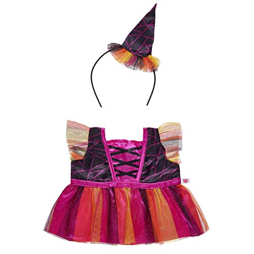 Build A Bear Workshop Orange and Pink Witch
