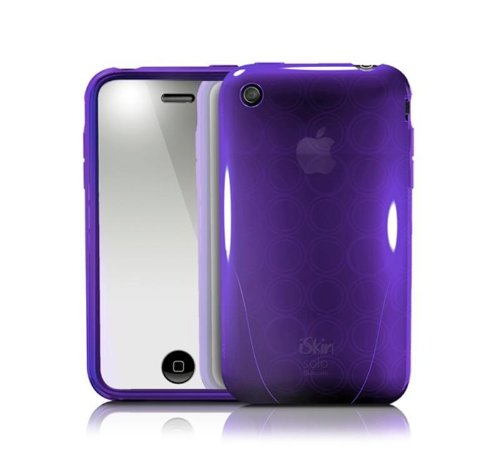 iSkin Solo FX Silicone Case for iPhone 3G/3GS for iPhone 3G - Purple ()