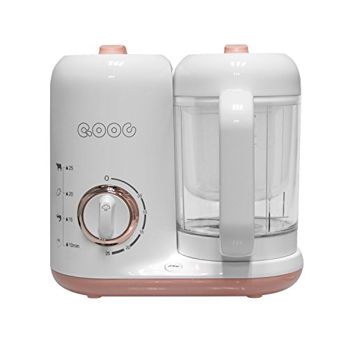 Baby food steamer and Blender Mini Food Maker Baby Food Cooker Dishwasher Safe, Baby Food Maker