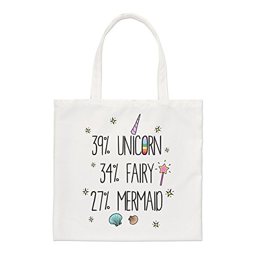 27 Unicorn Bag 27 Tote Mermaid Unicorn 34 39 Fairy 39 34 Fairy Mermaid Small dEqzFqW