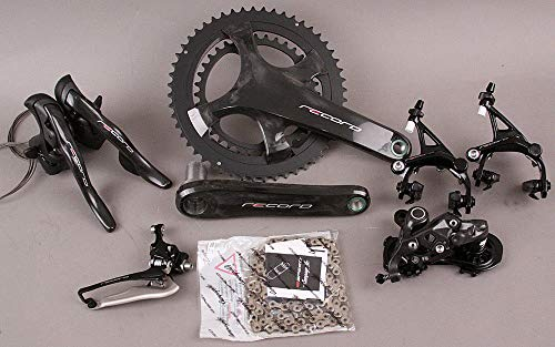 (Campagnolo 2018-19 Record 12 Speed Group Groupset 6 Pieces 175mm 34/50 Crankset)