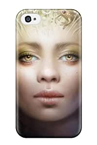 Iphone 4/4s Cover Case - Eco-friendly Packaging(mother Nature Fantasy Women Abstract Fantasy)