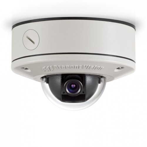 (Arecont Vision AV3455DN-S 3 Megapixel, Surface Mount, Vandal Resistant, IP66 Dome IP Camera, 4mm IR Corrected)