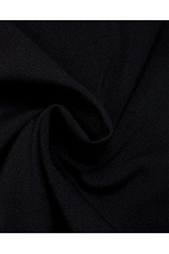 Nero Lunga Primaverile Pantalone Pantaloni Casual Elegante Waist Colpo High Pantaloni Tempo Donna Pantaloni Libero Monocromo Femminile Cintura Larghi Autunno Inclusa Moda Costume CXqw106Wxf