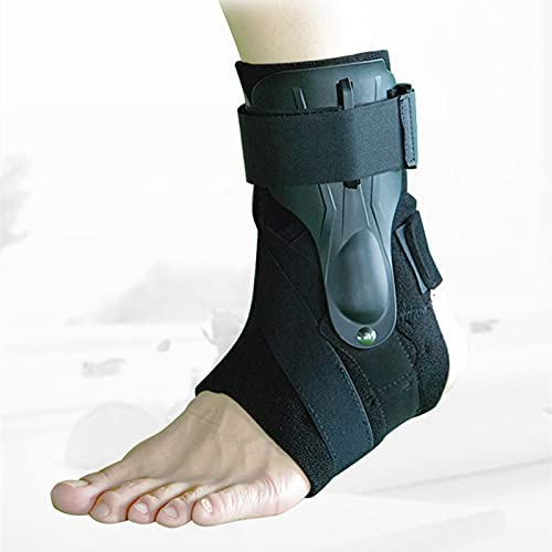Reusable Ankle Brace Strap Bandage Foot Guard Protector Adjustable Ankle Sprain Orthosis Stabilizer Plantar Fasciitis Wrap for Men Women Old Adults Kids 704 (Size : M)