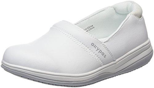 Oxypas Suzy, Women's Safety Shoes, White (Fux), 5 UK (38 EU) blanco - White (Wht)