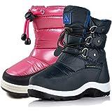 Nova Mountain Little Kid's Winter Snow Boots,NF NFWBN112 NavyBlue 9