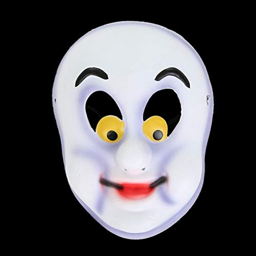 SHWSM Japanese Horror Movie Mask Scary Mask Creepy Mask Monster Mask, Scary Costumes Party Rubber Plastic Mask for Halloween (Size : ()