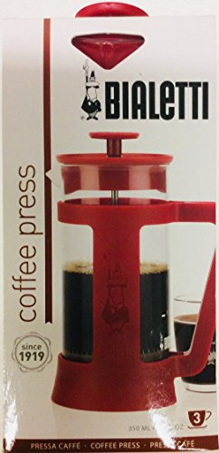 Bialetti-Cofee-Press-RED-12-Fl-Oz