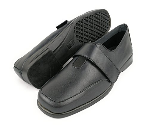 36 Cuir Confort en Noir Chaussures Bordeaux Nacré pour Femme Taille Zerimar Couleur OHEzUc1WW