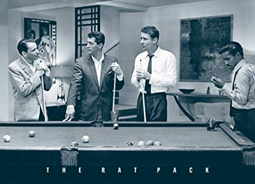 (The Rat Pack Pool Table Movie Poster 36x24 inch)