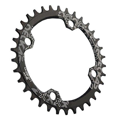 iztor 104BCD 32T - Anillo de Cadena para Bicicleta de montaña BMX MTB (9 10 11 velocidades), Color Negro