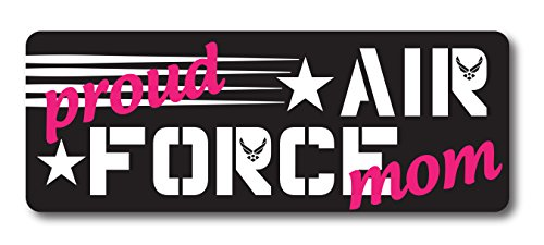 (Proud Air Force Mom Magnet Decal Perfect for Car or Truck -)