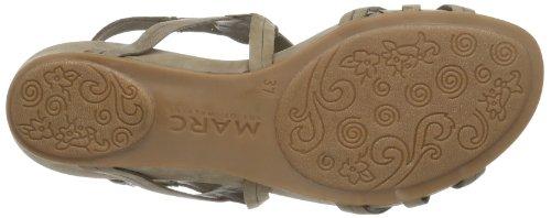 Marc Shoes Indira 1.637.04-02 Damen Sandalen Grau (taupe 260)