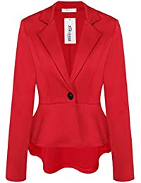 Amazon.com: Red - Blazers / Suiting & Blazers: Clothing, Shoes ...