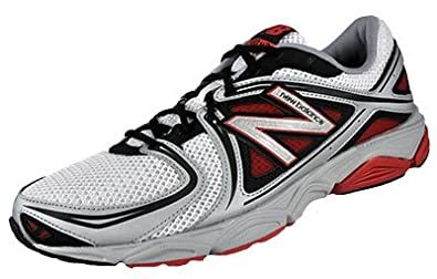 New Balance M580WR3, Herren Running, Sneaker, weiß rot