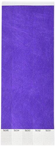 Tyvek Wristbands (purple)