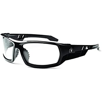 SAFETY GLASSES-CLEAR LENSES//MATTE BLACK FRAME Inc DVX by Wiley X DETOUR ZWDET03