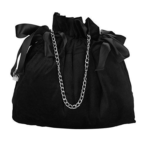 Potli Bag Drawstring Bucket Bag Crossbody Shoulder Bag Clutch Drawstring Purse Satchel for Woman -