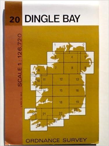 Dingle Bay Ireland Map.Irish Map Dingle Bay Sheet 20 Ordnance Survey 9780904996357