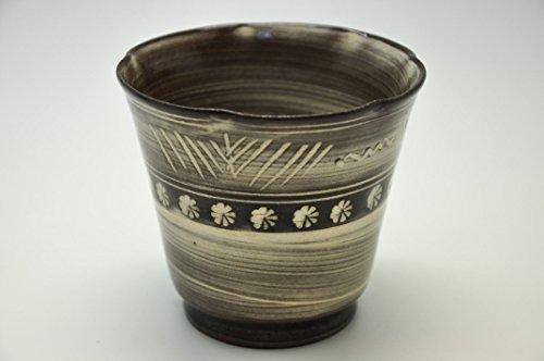 Suzuki-Touen Genuine Mino ware Sake Cup 180cc 9.5 / 9.5 / 8.5cm (3.7 / 3.7 / 3.3inch)[10001] by zenjapanstyle