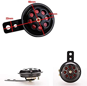 1x Metal Motorcycle Car Truck Waterproof Electric Horn 12V Loud Sound 100DB New