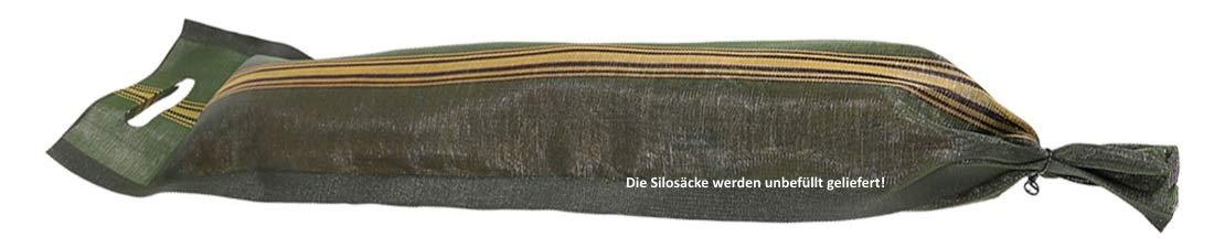 """grün mit Griff Zill Silosäcke /""""Lichtenstein/"""" 25x100cm mit Zugband"""