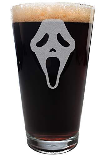 Minimalist SCREAM Scary Movie Mask Pint Size Drinking