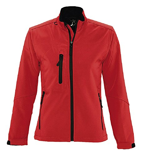 SOL'S Ladies Roxy Soft Shell Jacket Red