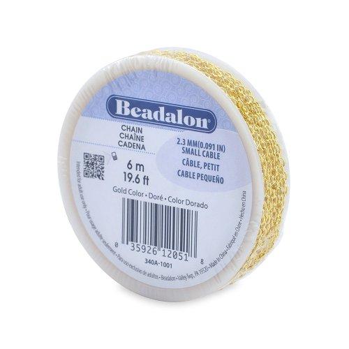 Beadalon 2 3mm Jewelry Making Chain