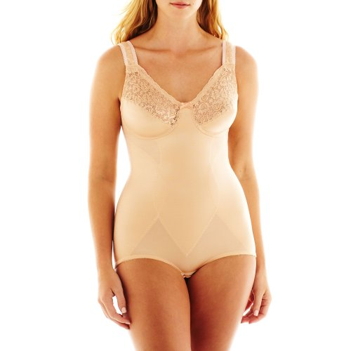 Cortland Intimates Style 8620 - Soft Cup Body Briefer, Nude, - Body Briefer Stretch