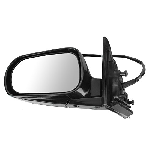Power Side View Mirror Folding Driver Left LH for 99-02 Accord 4 Door Sedan ()