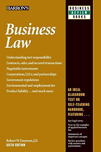 business law robert emerson - 1