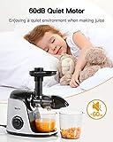 Juicer Machines, Sboly Slow Masticating Juicer