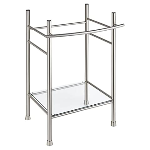 American Standard 8719000.295 - EDGEMERE CONSOLE TABLE LEGS - SATIN - American Standard Console