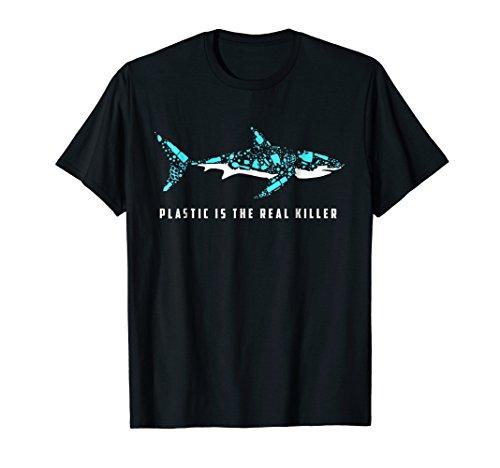 Shark Plastic Is The Real Killer Shirt Environmental Shirt