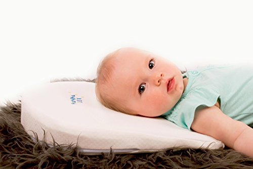 Memory Foam | Bamboo Bassinet Wedge Pillow | Universal Baby Sleep Positioner + Free eBook
