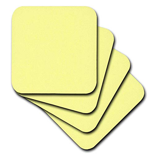 Canary Yellow Colour - 3dRose Kultjers Colors - Color canary yellow - set of 8 Ceramic Tile Coasters (cst_317397_4)
