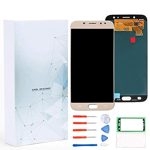 Maojia LCD Display Touch Screen Replacement Digitizer Assembly Compatible  for Samsung J7 Pro SM-J730G/DS,Galaxy J730F J730G J730GM J730DS Super  AMOLED