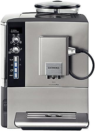 Siemens TE506501DE EQ.5 macchiatoPlus - Máquina de café expreso (1600 W), titanio: Amazon.es: Hogar