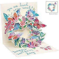 Up with Paper Treasure Happy Mother's Day (Butterfly Wreath)