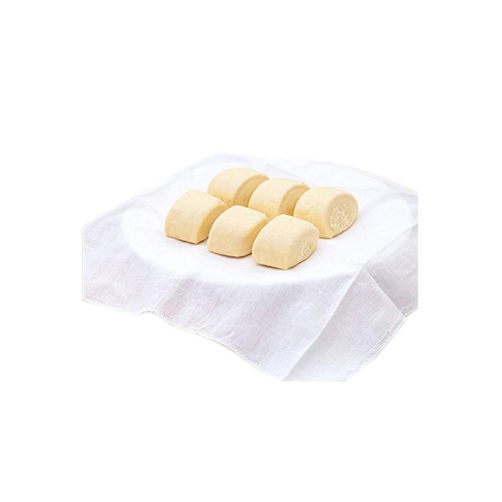 Lautechco 4Pcs Reusable Natural Pure Cotton Bamboo Steamer Cloth Best Quality Fabric Round Steamers Rack Gauze Pad by Lautechco® LautechcoÃ'® SYNCHKG129112