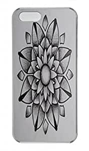 Blossom Design New Arrival PC Transparent Tough Hard Armor Case Cover Skin for Iphone 5S - Rig up