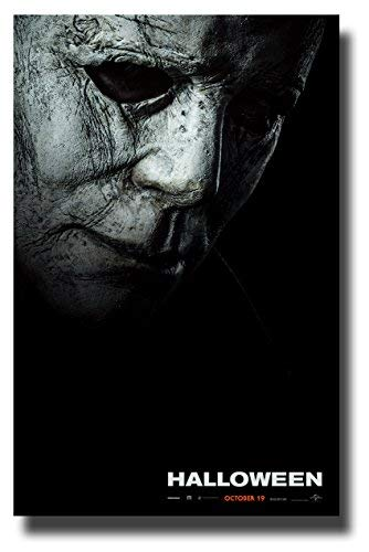 Halloween Poster Movie Promo 11 x 17 inches 2018 Mask]()