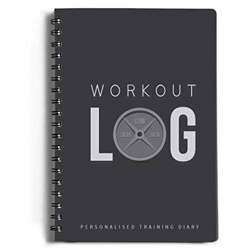 Workout Log Gym (Gray) - XL 5