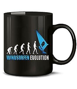 WINDSURFEN EVOLUTION 626(Schwarz-Blau)