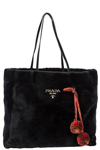 noir sac l'épaule à Prada femme vUdfIqfwx