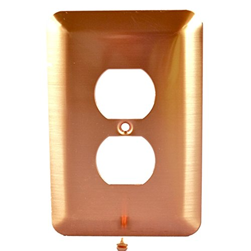 copper outlet covers - 5