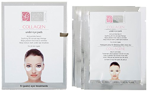 Global Beauty Premium Collagen Anti-wrinkle UnderEye Pads (Eye Mask Beauty Soothing)